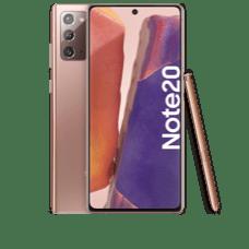 Samsung Galaxy Note 20 Frontansicht