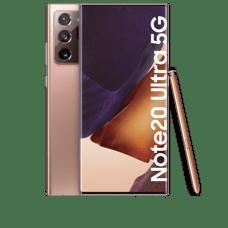 Samsung Galaxy Note 20 Ultra 5G Frontansicht