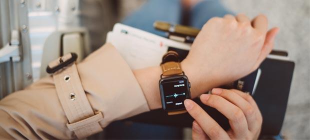 Smartwatch mit Anruffunktion