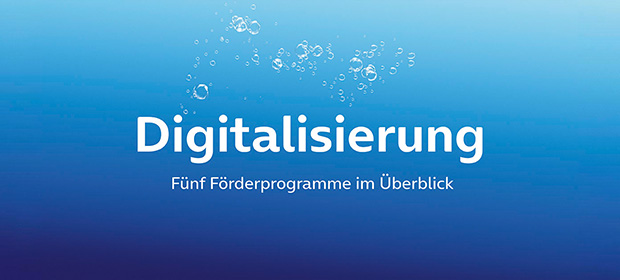 Fünf Förderprogramme für die Digitalisierung des Mittelstands