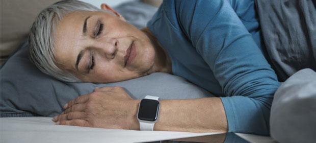 Smartwatch mit Schlafüberwachung