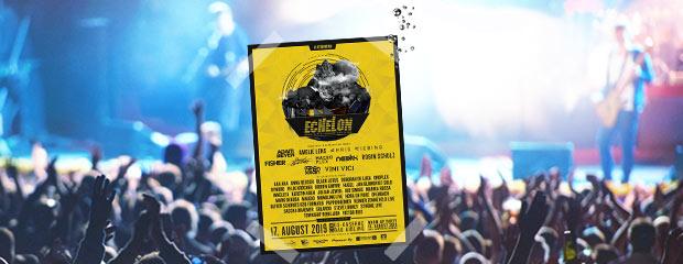 2für1 Tickets für das ECHELON Festival