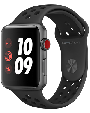 Apple Watch Nike+ LTE Alu 42mm Detailansicht