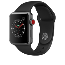 Apple Watch S3 LTE Alu 38mm Sport