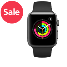 Apple Watch S3 LTE Alu 42mm Sport