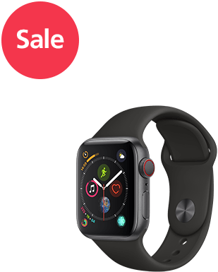 Apple Watch S4 LTE Alu 40mm Sport Detailansicht