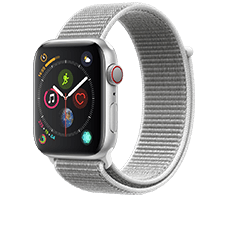 Apple Watch S4 LTE Alu 44mm Loop