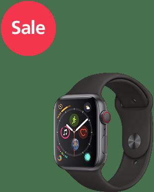 Apple Watch S4 LTE Alu 44mm Sport Detailansicht