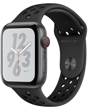 Apple Watch Nike+ S4 LTE Alu 44mm