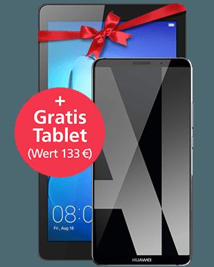 Huawei Mate 10 Pro mit Tablet