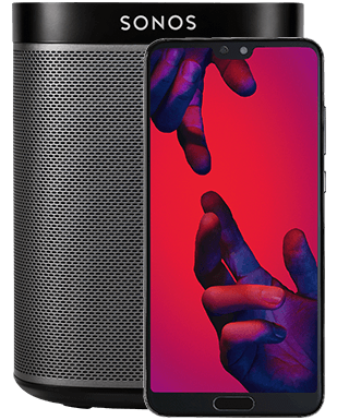 Huawei P20 Pro mit Sonos Play:1