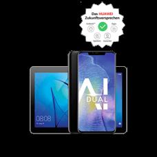 Huawei Mate20 Pro mit Tablet