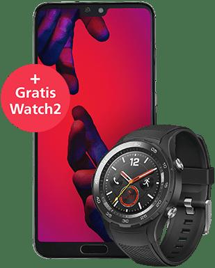 Huawei P20 Pro mit Watch2