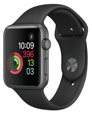 Apple Watch S1 Sport 42 mm Detailansicht