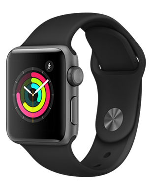 Apple Watch S3 Alu 38mm Sport Detailansicht