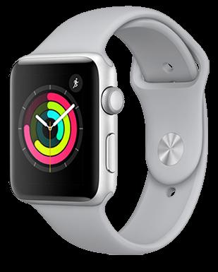 Apple Watch S3 Alu 42mm Sport Detailansicht