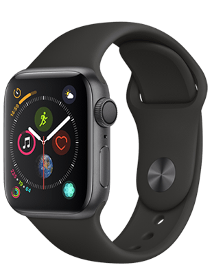 Apple Watch S4 Alu 40mm Sport Detailansicht