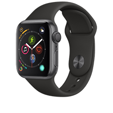 Apple Watch S4 Alu 40mm Sport