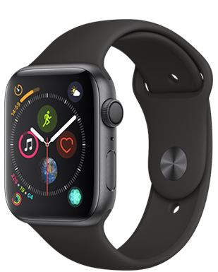 Apple Watch S4 Alu 44mm Sport Detailansicht