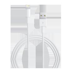 Apple Lightning auf USB-Kabel
