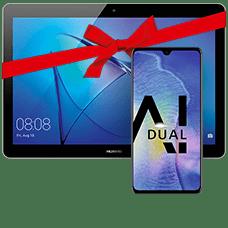 Huawei Mate20 mit Tablet