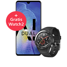 Huawei Mate 20 mit Watch2