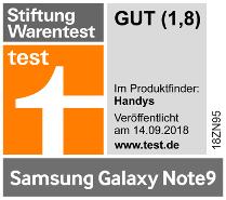 Testlogo Samsung Galaxy Note9