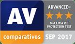 Überzeugende Leistung im Malware Protection Test von AV-Comparatives