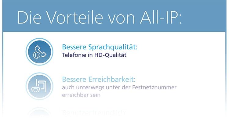 Die Vorteile von All-IP
