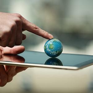Die Globalisierung nimmt aufgrund der Digitalisierung immer weiter zu
