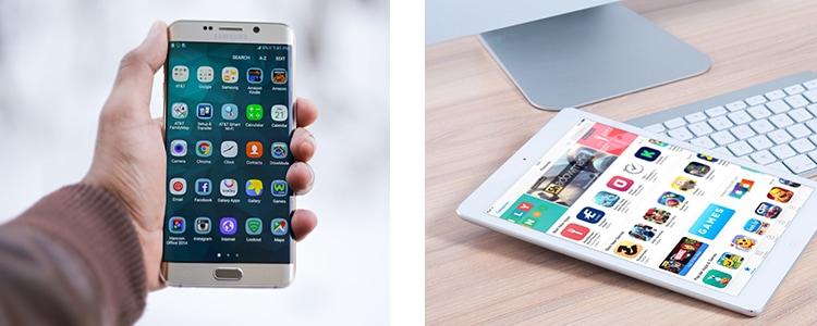 Apps für Android und iOS