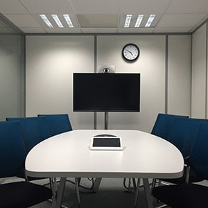 Unified Communications and Collaboration - Chairs-conference-room-corporate