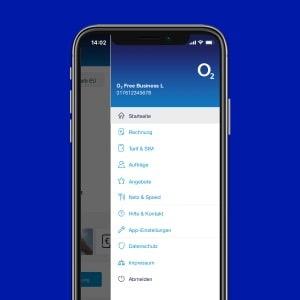 o2 Business App: Buchungen