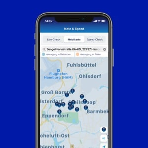 o2 Business App: Netz checken