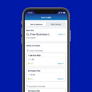 o2 Business App: Tarifdetails