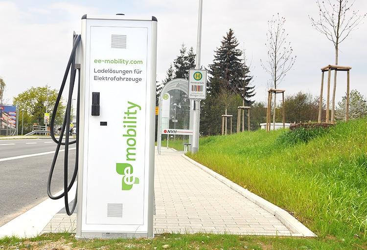 eeMobility Ladelösung für Elektrofahrzeuge