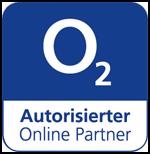 Online-Partnersiegel für autorisierte o2 Vertriebspartner
