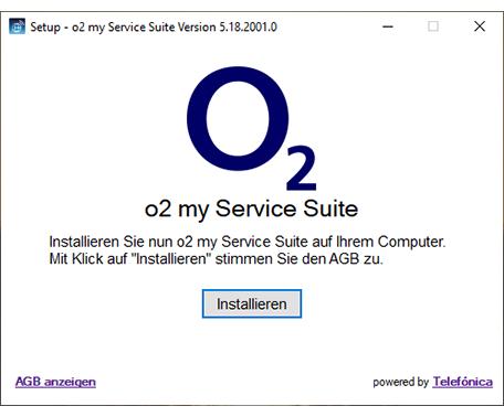 o2 Service Suite