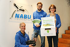 Handy Sammel- und Recyclingaktion von o2 und NABU