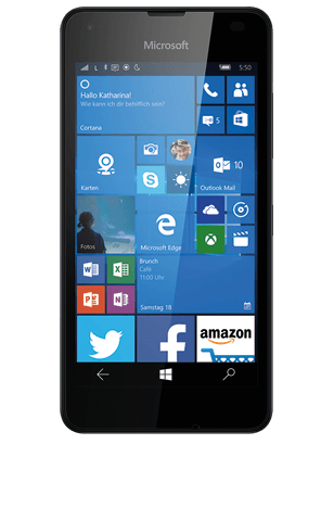 microsoft lumia 550 mit vertrag online kaufen o2. Black Bedroom Furniture Sets. Home Design Ideas