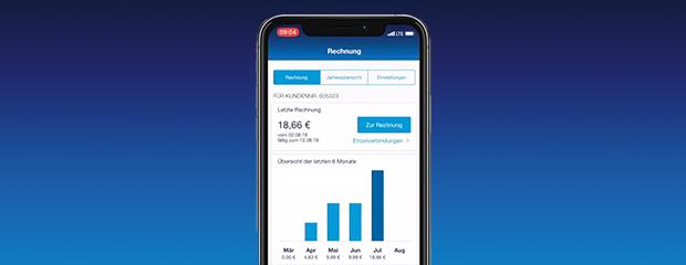 Rechnungen in der Mein o2 App einsehen
