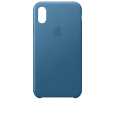 Apple iPhone XS Leder Case