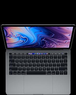 """MacBookPro13"""" (2018) Detailansicht"""