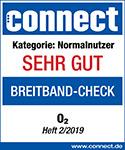 """Connect: Note """"Sehr gut"""" für das DSL Angebot von O2"""