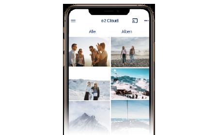 Cloud-Speicher: Fotos und Videos sichern