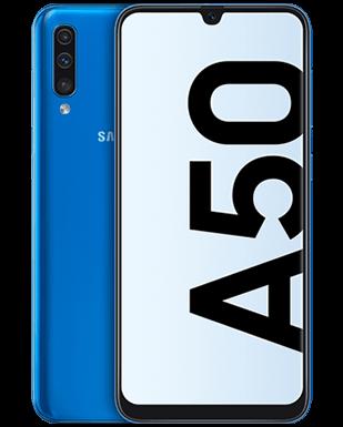 Samsung Galaxy A50 Detailansicht