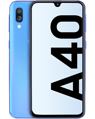 Samsung Galaxy A40 Detailansicht