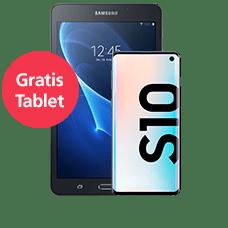 Samsung Galaxy S10 mit Tablet