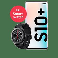 Samsung Galaxy S10+ mit Smartwatch