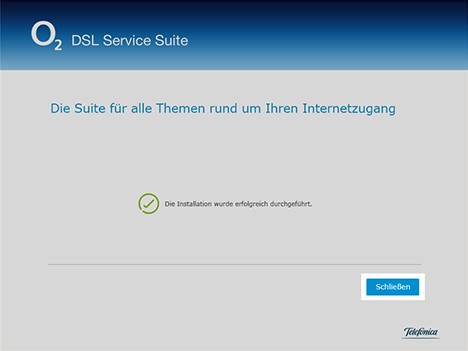o2 Service Suite verwenden